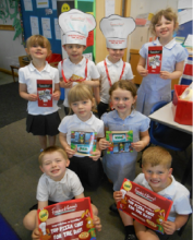 Harlequin Class visit 'Frankie and Benny's'